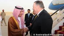 Saudi-Arabein Riad Besuch Mike Pompeo