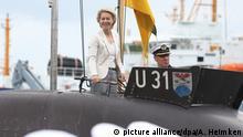 Ursula von der Leyen besucht die Marine