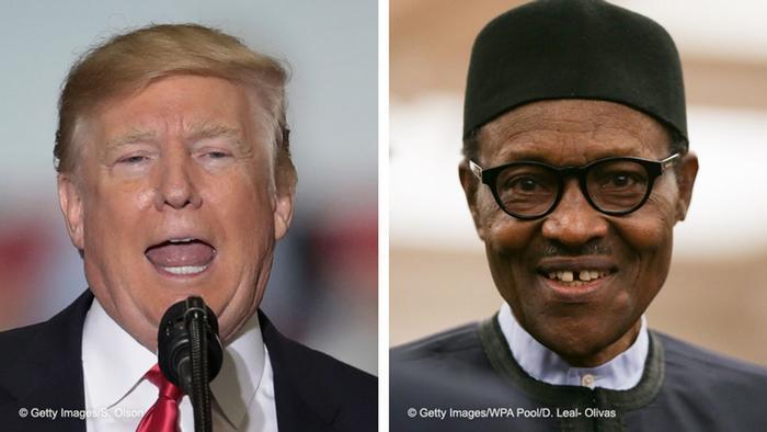 Trump evitou falar de polémico insulto a África na reunião com Buhari