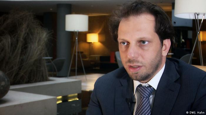 ادل عبدالغنی رئیس شبکه حقوق بشر برای سوریه است
