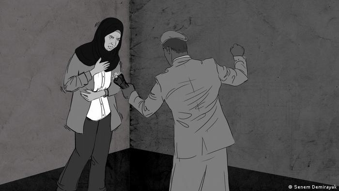 Zeichnung syrisches Gefängnis