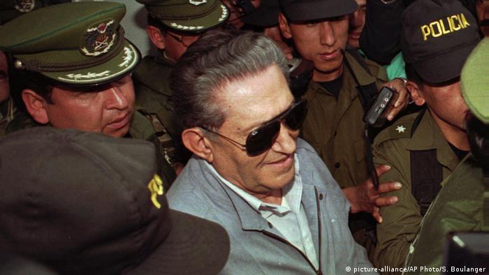 Bolivia's ex-military dictator Luis Garcia Meza