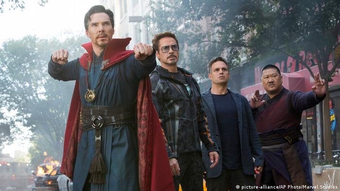 Film still from Avengers: Infinity War (picture-alliance/AP Photo/Marvel Studios)