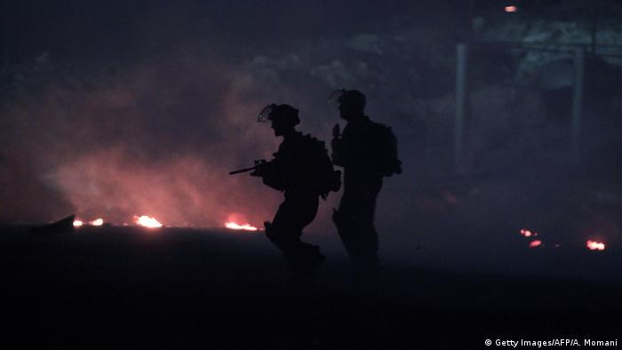 Westjordanland Israelische Soldaten
