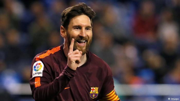 La Liga Deportivo La Coruna v Barcelona Messi (Imago)