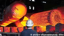 UK Sheffield Stahlwerk Symbolbild Strafzölle