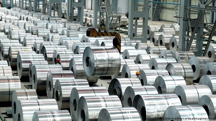 Aluminium-Produktion in China (picture-alliance/dpa/Imaginechina)