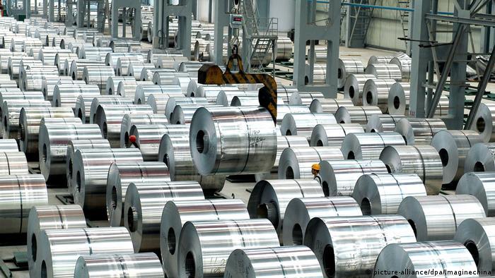 Aluminium-Produktion in China