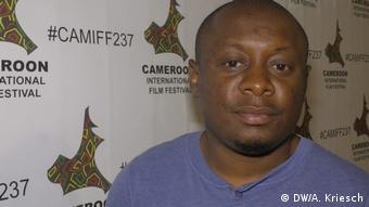 Cameroon International Film Festival organizer Agbor Gilbert Ebot