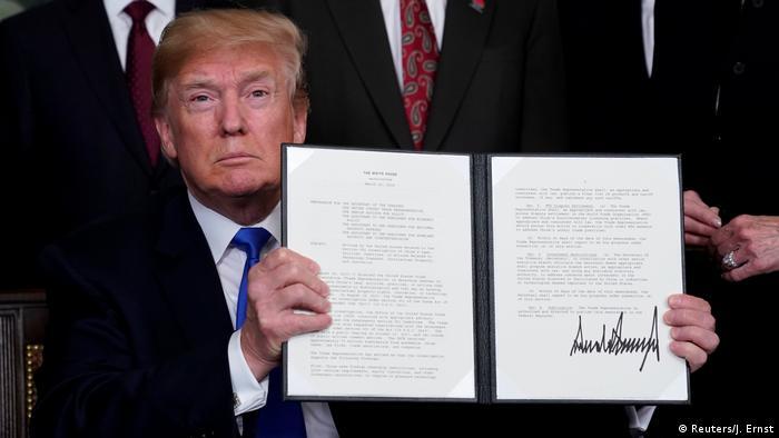 USA Washington - Donald Trump verhängt Strafzölle gegen China (Reuters/J. Ernst)