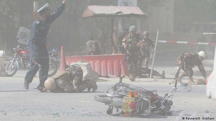Afghanistan Kabul Doppelanschlag (Reuters / O. Sobhani)