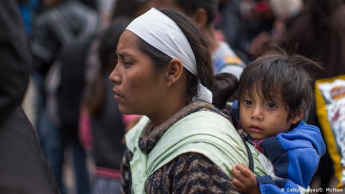 Mexiko Tijuana Migranten-Konvoi erreicht US-Grenze (Getty Images/D. McNew)