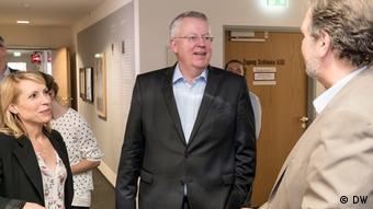 Ο Γενικός Διευθυντής της DW Πέτερ Λίμπουργκ