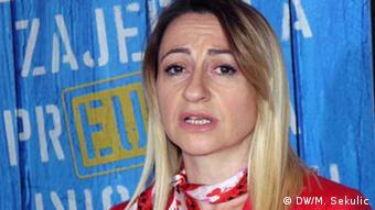 Koordinatorin des Europa-Netzwerkes der Unternehmer in Montenegro Ljiljana Belada