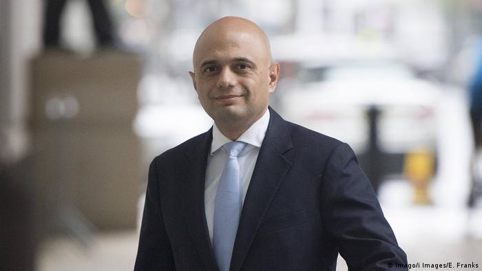 Großbritannien Sajid Javid neuer Innenminister (Imago/i Images/E. Franks)