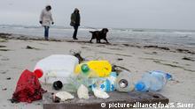 Plastikmüll am Meer