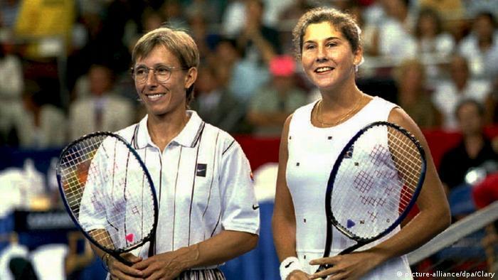 Monica Seles: geglücktes Comeback: Sieg gegen Navratilova
