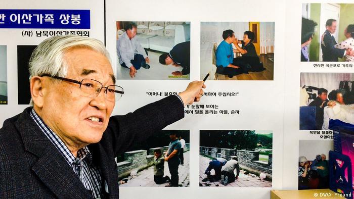 Südkorea - Verein der getrennt lebenden Familien in Südkorea