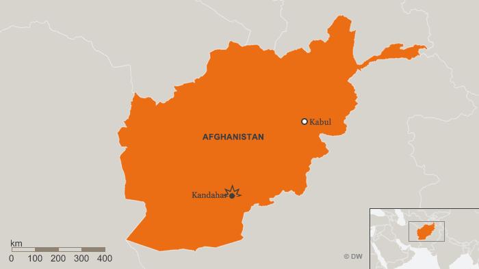 Infografik Karte Afghanistan Anschlag in Kandahar SPA