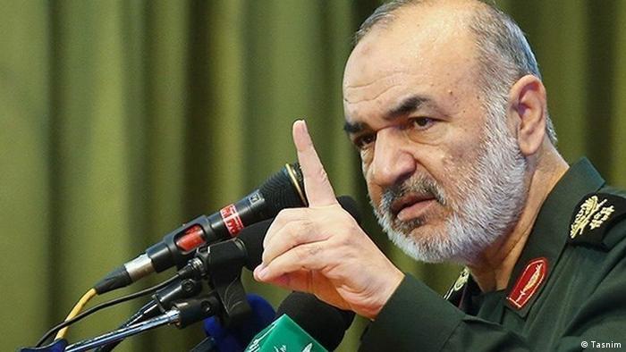 Revolutionary Guard commander Hossein Salami