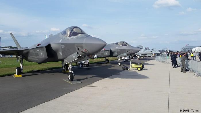 Berlin - ILA-2018 Aerospace exhibition: F-35