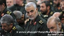 Syrien Schiitische Gruppen (picture-alliance/AP Photo/Office of the Iranian Supreme Leader)