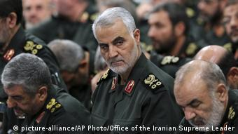 Revolutionary Guard General Qasem Soleimani (picture-alliance/AP Photo/Office of the Iranian Supreme Leader)