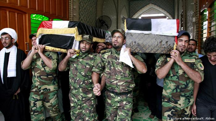 Syrien Schiitische Gruppen (picture-alliance/dpa/K. Abbas)