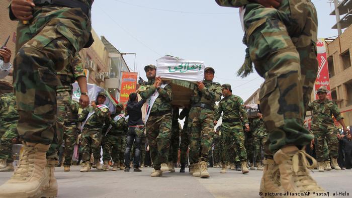 Syrien Schiitische Gruppen (picture-alliance/AP Photo/J. al-Helo)