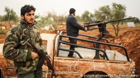 Syrien Schiitische Gruppen (picture-alliance/Pacific Press/I. Press)