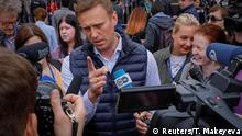 Russland Demo für freies Internet in Moskau | Navalny