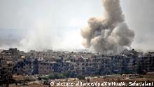 Syrien Explosionen erschüttert Damaskus