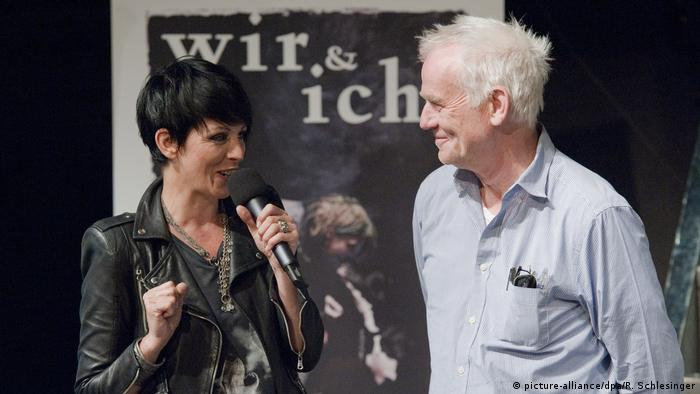 Nena with her former manager Jim Rakete in Berlin 2010 (picture-alliance/dpa/R. Schlesinger)