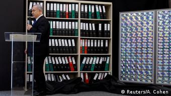 Israel Benjamin Netanjahu Verteidigungsministerium (Reuters/A. Cohen)
