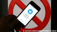ST PETERSBURG, RUSSIA - JUNE 23, 2017: Telegram, a free cloud-based instant messaging service, running on a smartphone. Sergei Konkov/TASS Foto: Sergei Konkov/TASS/dpa |
