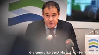 Belgien Frontex-Direktor Fabrice Leggeri in Brüssel (picture-alliance/AP Photo/G. Vanden Wijngaert)