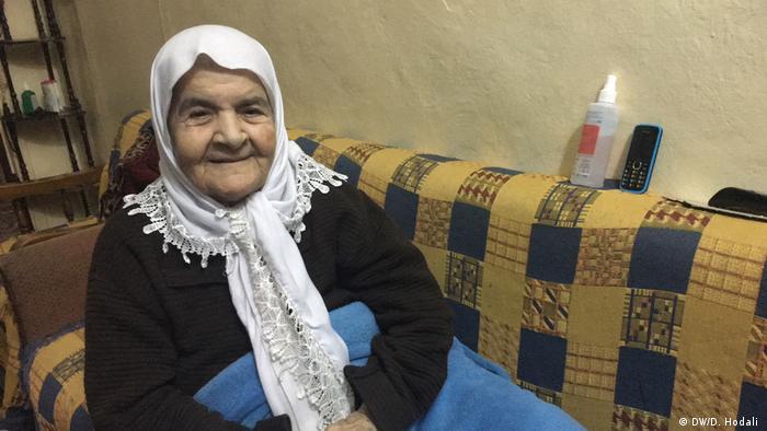 Hafida Khatib in Burj El Barajneh im Lebanon