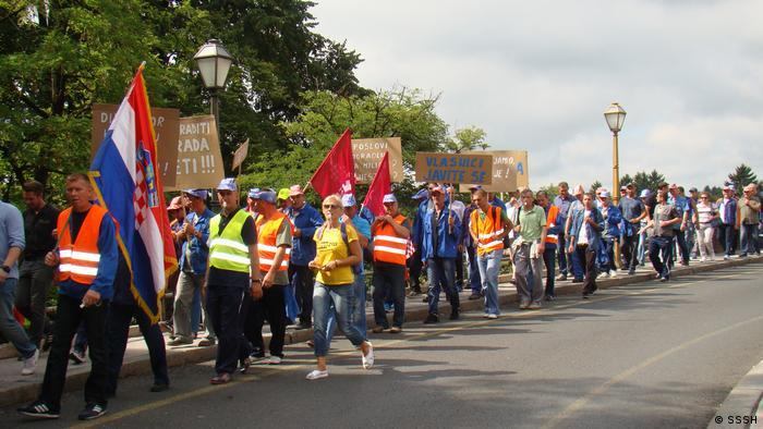 Hrvatski radnici imaju zašto prosvjedovati