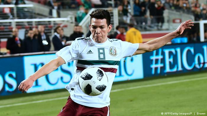 Fußball Mexiko Hirving Lozano (AFP/Getty Images/F. J. Brown)