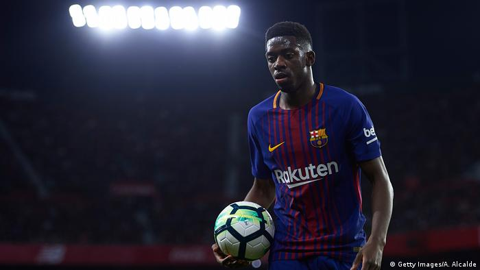 Ousmane Dembele Fußball Frankreich (Getty Images/A. Alcalde)