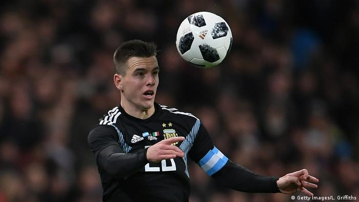 Fußball Giovani Lo Celso Argentinien (Getty Images/L. Griffiths)