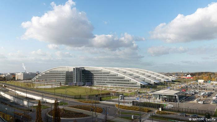 NATO's new headquarters in Brussels