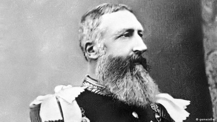 Porträt von König Leopold II. von Belgien (gemeinfrei)