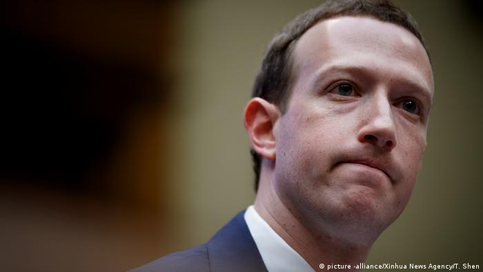 Mark Zuckerberg Facebook Günder (picture -alliance/Xinhua News Agency/T. Shen)