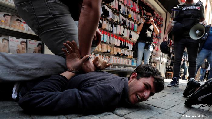 1. Mai Proteste in der Türkei (Reuters/M. Sezer)