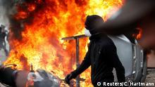 Frankreich Paris 1. Mai Proteste