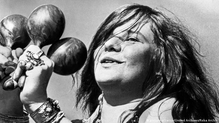 Janis Joplin no palco