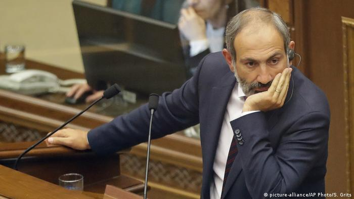 Armenien Oppositionsführer Nikol Pashinian