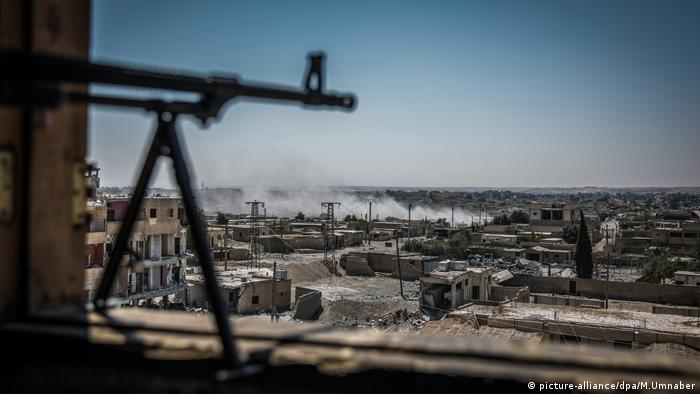 SDF forces target IS fighters in Raqqa