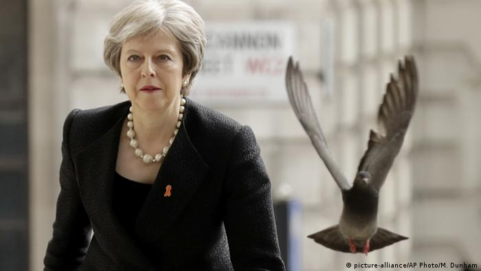 England Premierministerin Theresa May (picture-alliance/AP Photo/M. Dunham)
